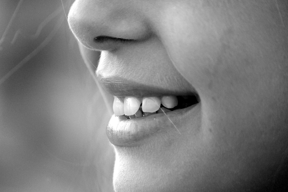 Photo from Pixabay: https://pixabay.com/en/smile-mouth-teeth-laugh-nose-191626/