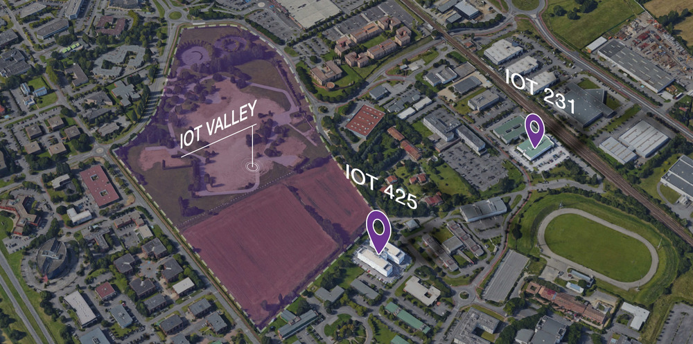 Projet immobilier Iot Valley