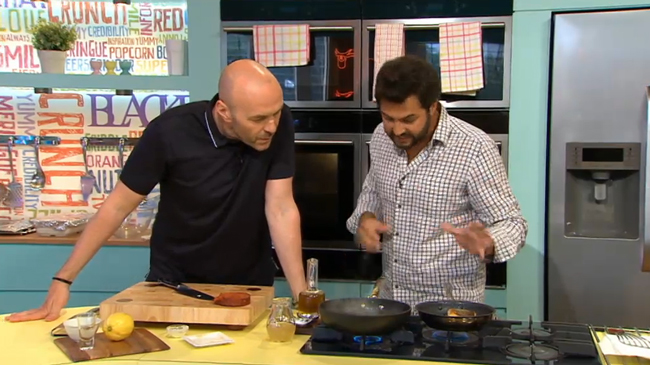 Click on the image to watch Omar cooking this dish on Channel 4's Sunday Brunch