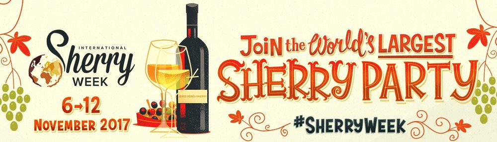 Click on the image to visit the official website for International Sherry Week!