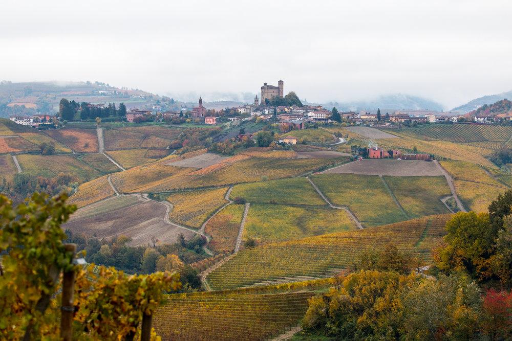 Serralunga d'Alba sen oktober 2015