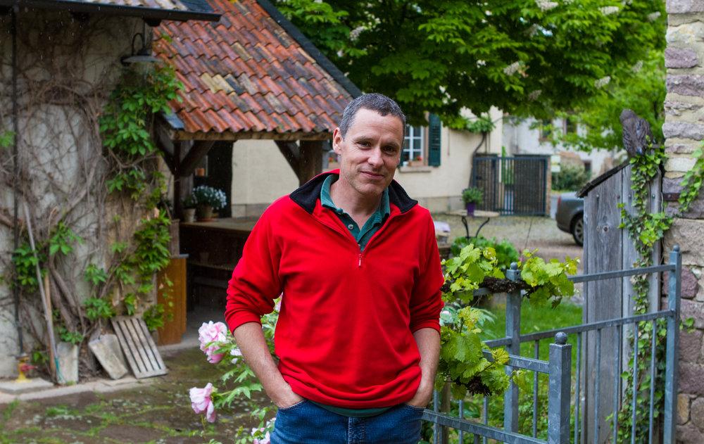 Daniel Wagner hjemme på bruket.