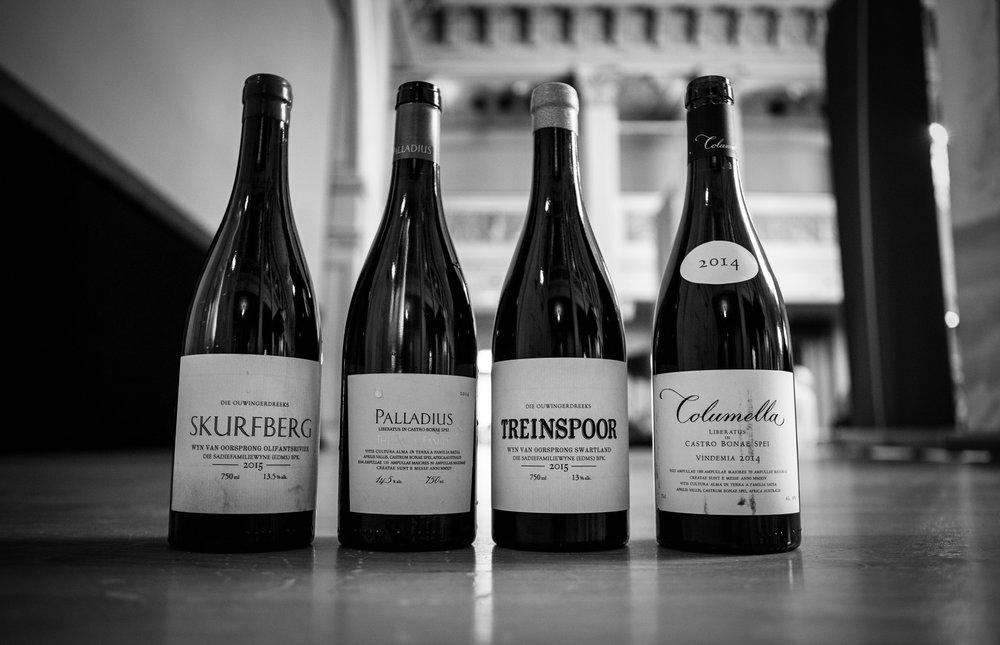 Noen av de flotte vinene som blir tilgjengelig fra Eben Sadie 3. mars.