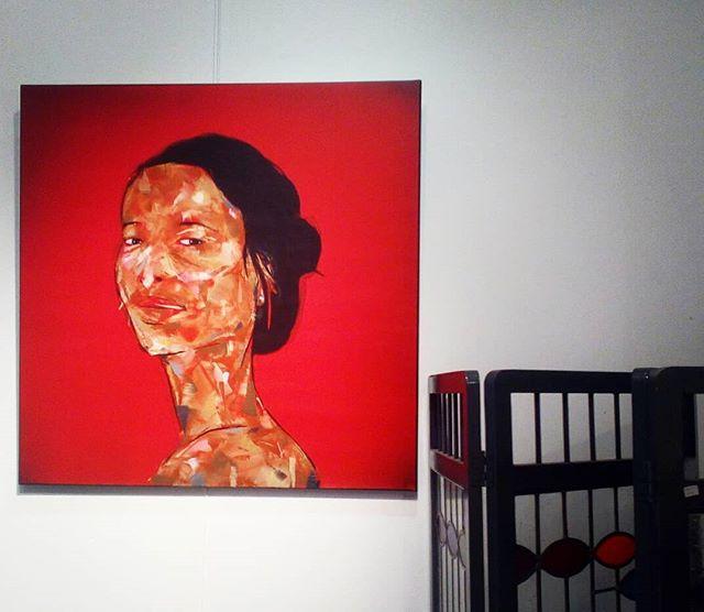 Pic of day Rom3 . . . . . #painting #picofday #art #creativespace #inspirations #loveart #design #luminaire #lampe #bag #bruxelles #saint-gilles #shopping #artwork #rom3creativespace #benartside #miregucas