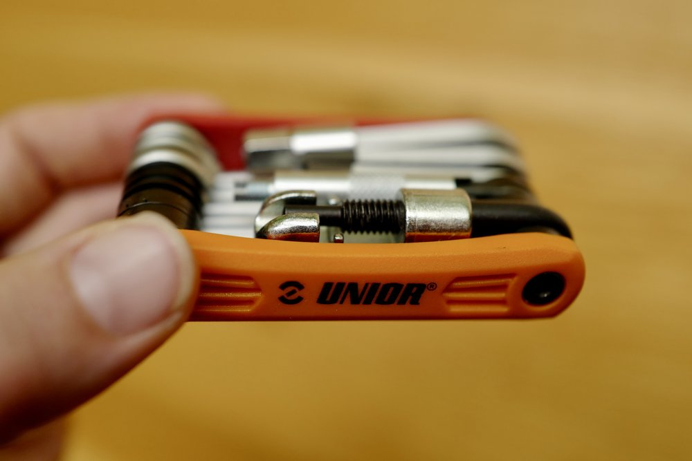 My Unior multi-tool saved my ride.