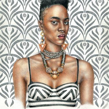 Nubia (Kushite Kingdom): African Art and Painting by Josh Sessoms Art. Philadelphia, Raleigh/Durham and New York.