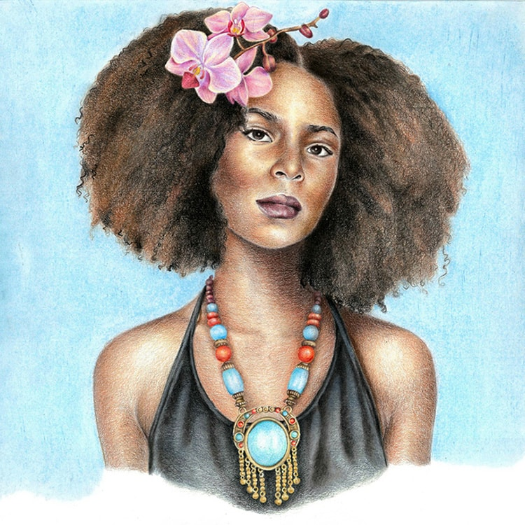 Ma'at (Kemet/Egypt): African Art and Painting by Josh Sessoms Art. Philadelphia, Raleigh/Durham and New York.