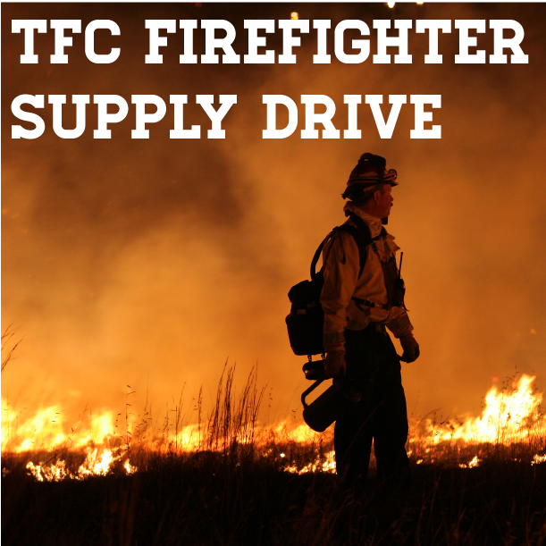 firefighter supply drive