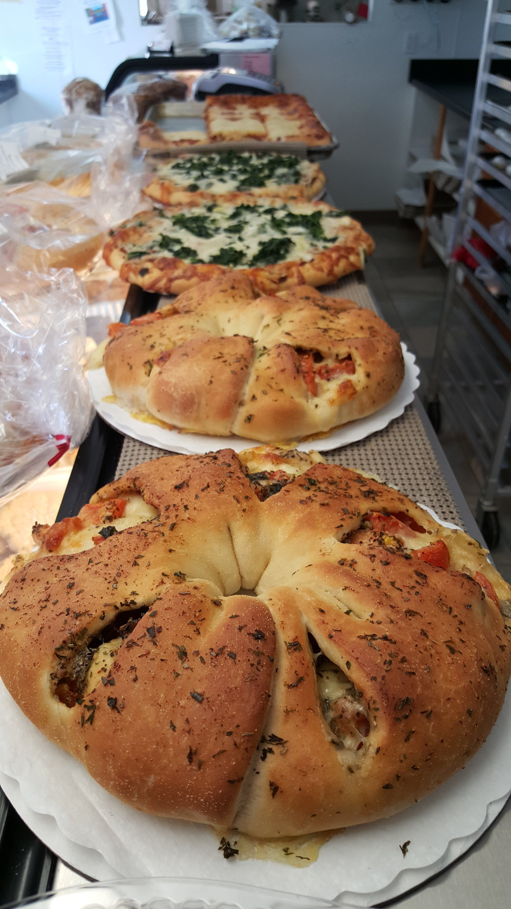 Stuffed Breads & Pizzas