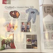 Print feature in Buffalo Magazine: Crafted in Western New York.
