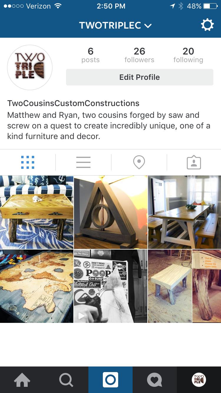 TwoTripleC Instagram Curator