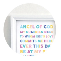 Angel of God Printable