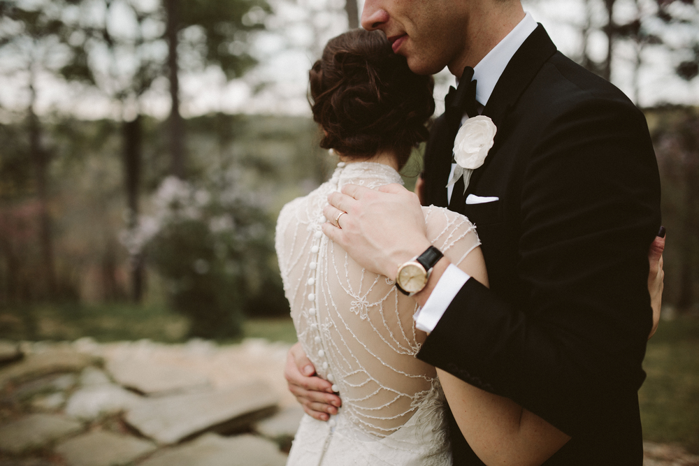 PHOTOGRAPHY:  KINSEY MHIRE PHOTOGRAPHY , seen in  Emma + Mark's Edwardian-inspired wedding