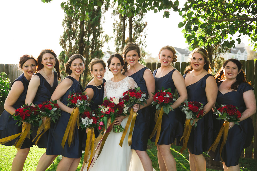 Photography:  Marroquin Photography , seen in  Genevieve + Dalton | Holiday Rock 'n' Bowl Wedding