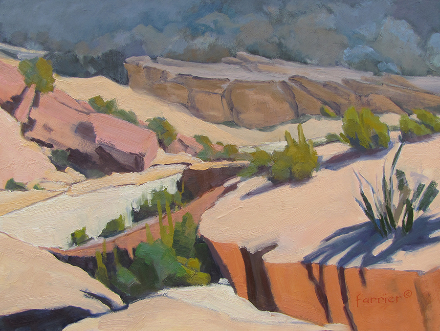 Virgin River Drainage     Oil     Private Collection