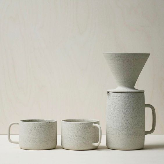 Yonobi Studio filter coffee set