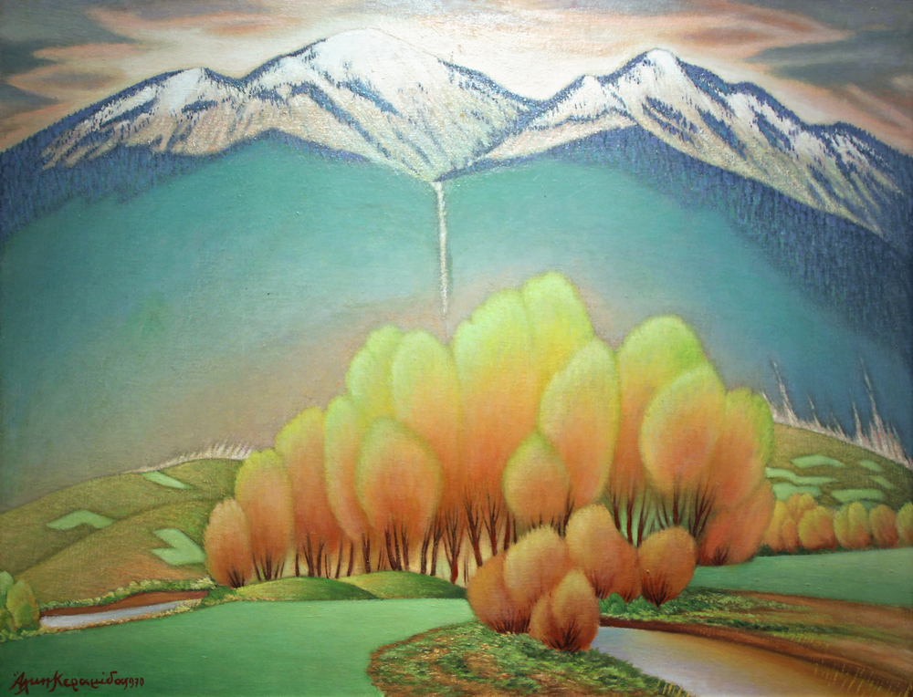 Painting by Alkis Keramidas
