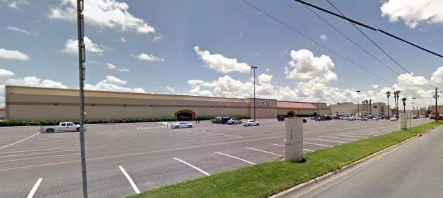 The La Plaza Mall / Sears Property marked for demolition.