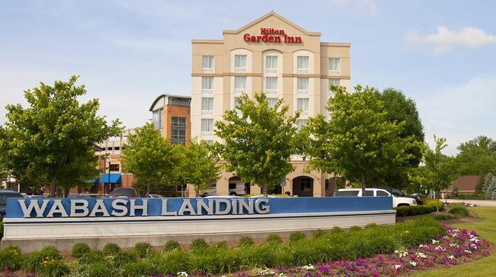 Wabash Landing - After   (photo: Hilton Garden INn)