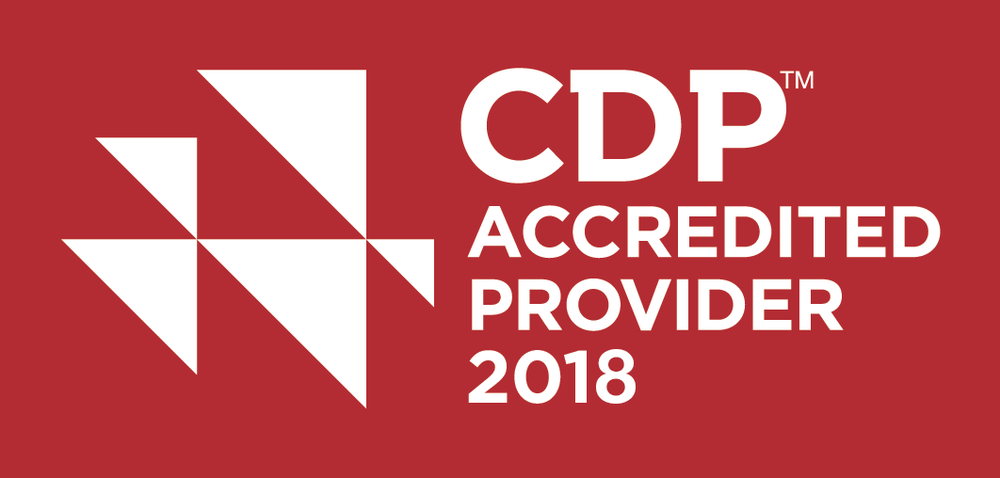 CDP Accredited Provider 2018
