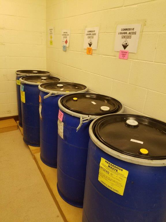 Chemical Waste Storage
