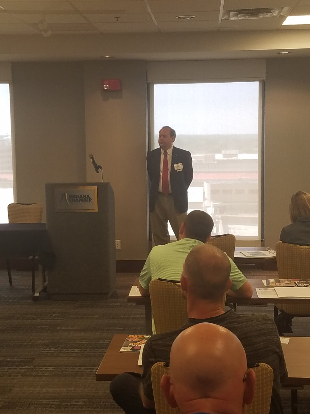 """Mack Overton, Vice President, EHS Compliance Services presenting """"Waste Permitting 101"""""""