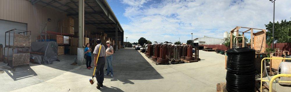 KERAMIDA's Storm Water Professionals on-site