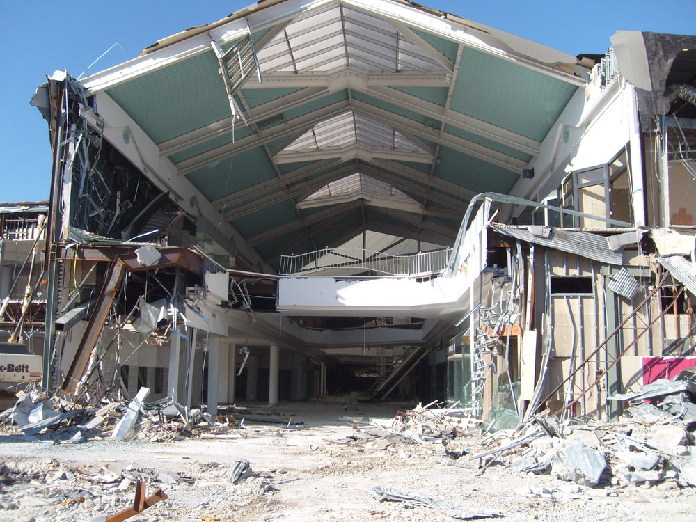 Environmental Remediation for Decommissioning of Former Simon Mall