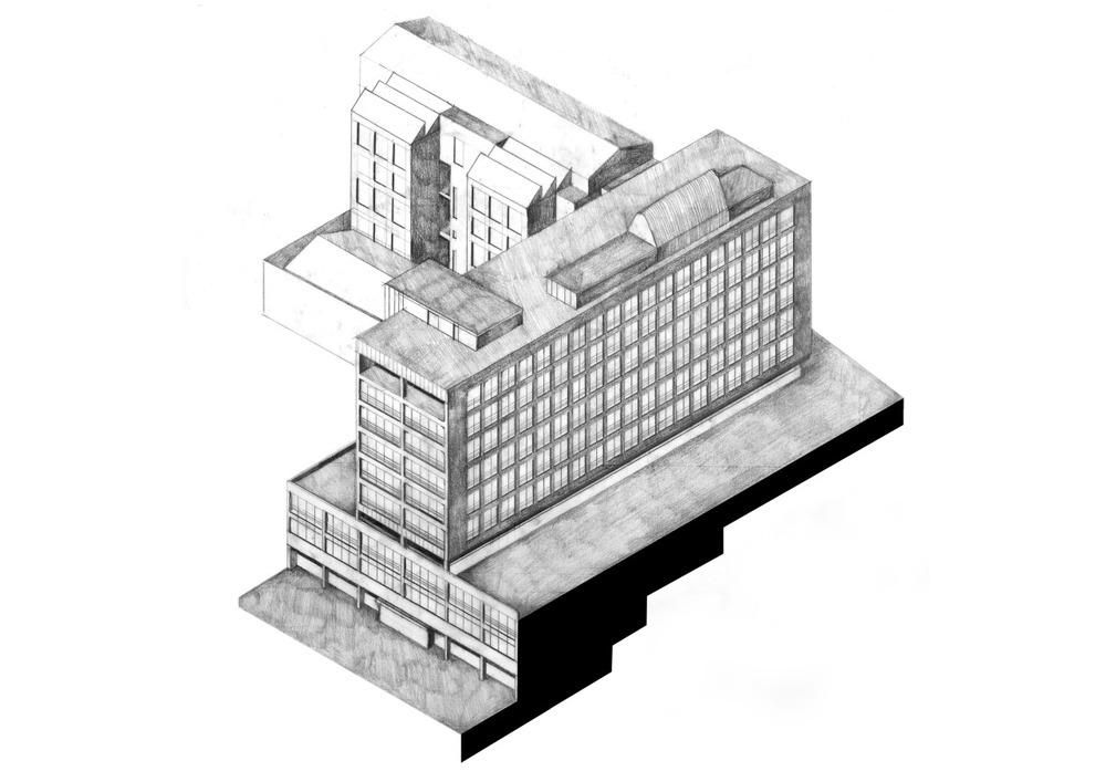 Glasgow Axonometric 02