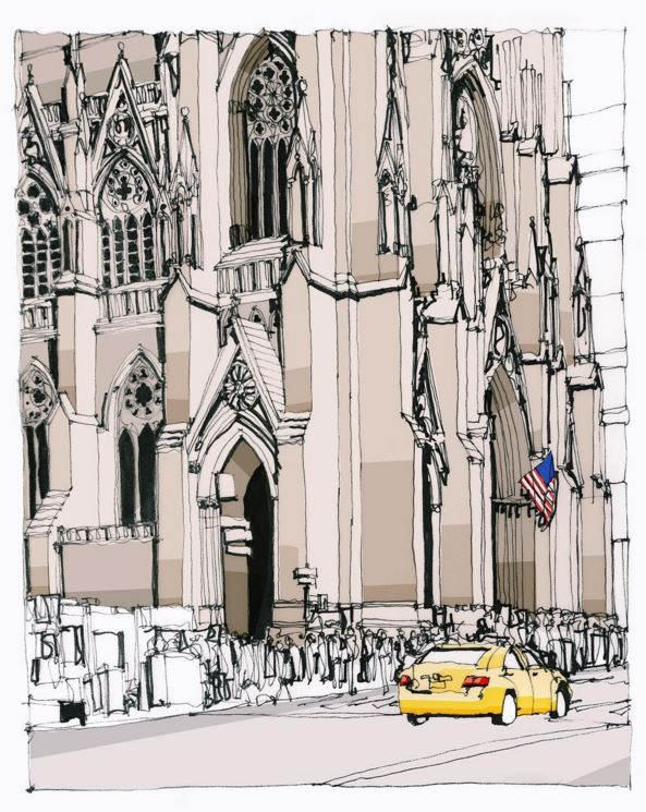 St Pat's, New York