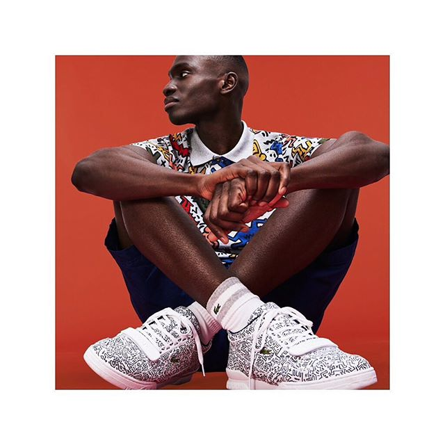 @lacoste x KEITH HARRING 🔥———————————————————————— #checkitout #lacoste #newcollab #lovemyjob #style #greateamwork #paris #lacostexkeithharing #iminlovewiththecroco #lacoste #crocogirls #neverstop #live #love #life