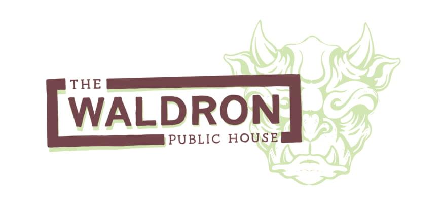 01_The Waldron_Primary Logo_White BG-1.jpg