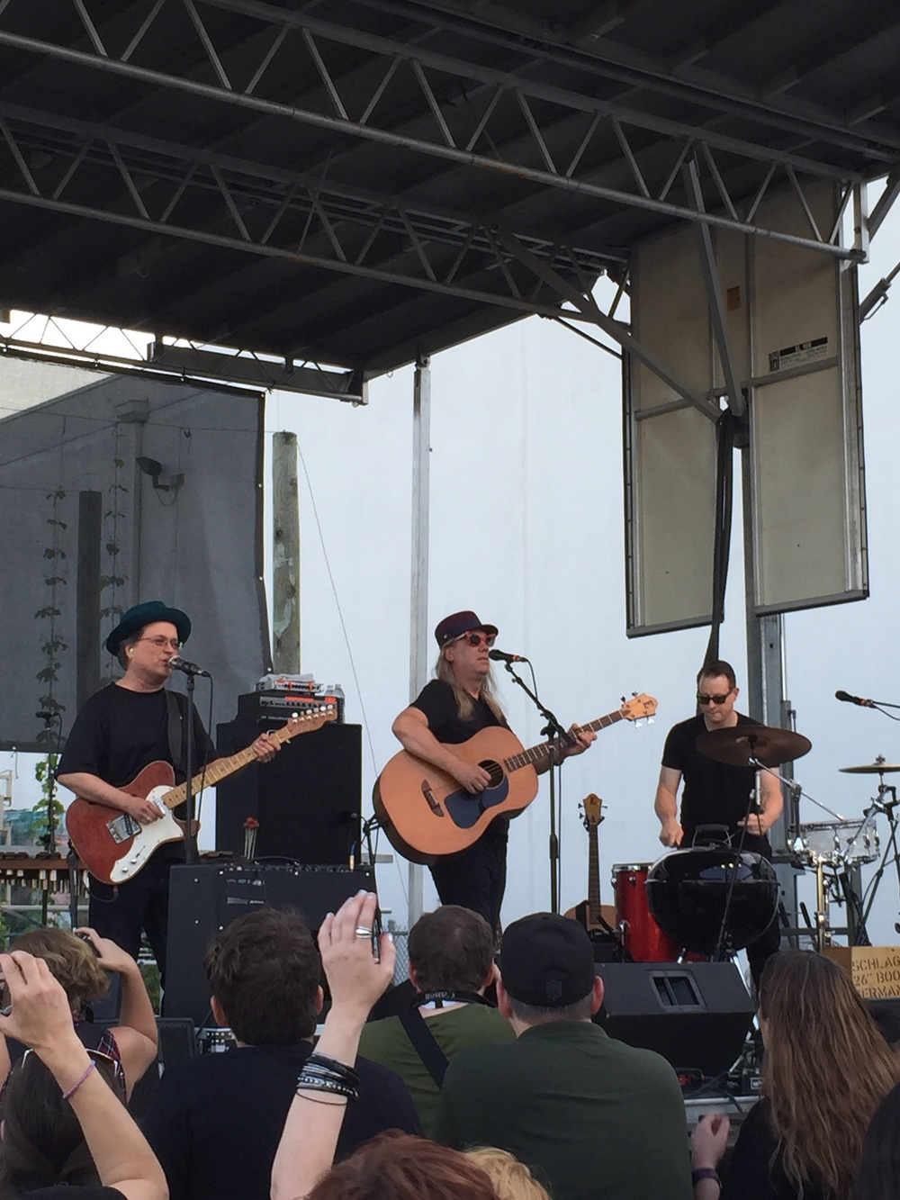 The Violent Femmes: Gordon Gano,Brian Ritchie and Victor Delorenzo