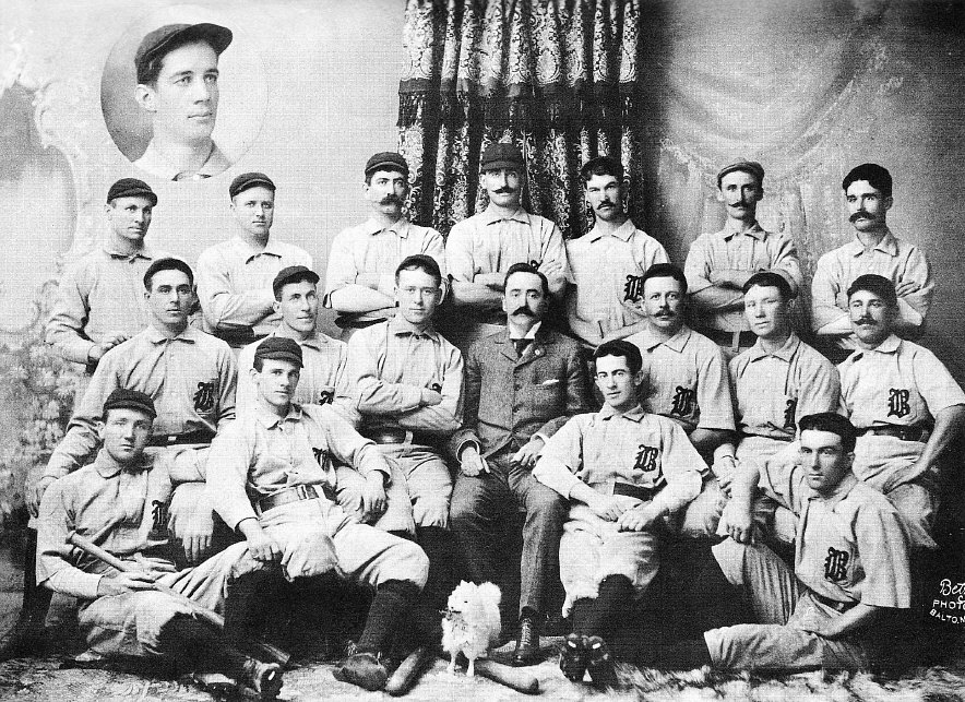 The 1896 National League Baltimore Orioles (Wikipedia)