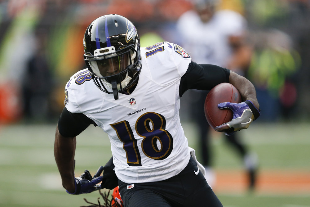 Jeremy Maclin is primed and ready to become a weapon for Joe Flacco, and elevate the Ravens' offense