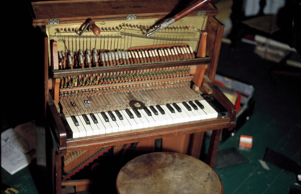Miniature Pianoforte, first tuning instrument, New York, 1979