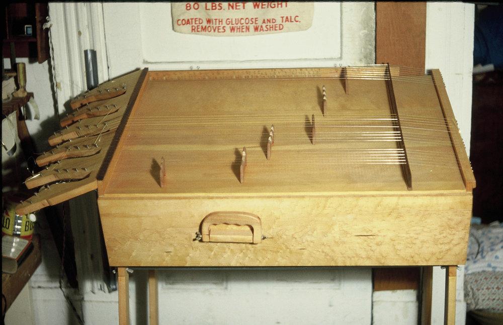 Partch Harmonic Canon, Fulton Street Studio, 1977