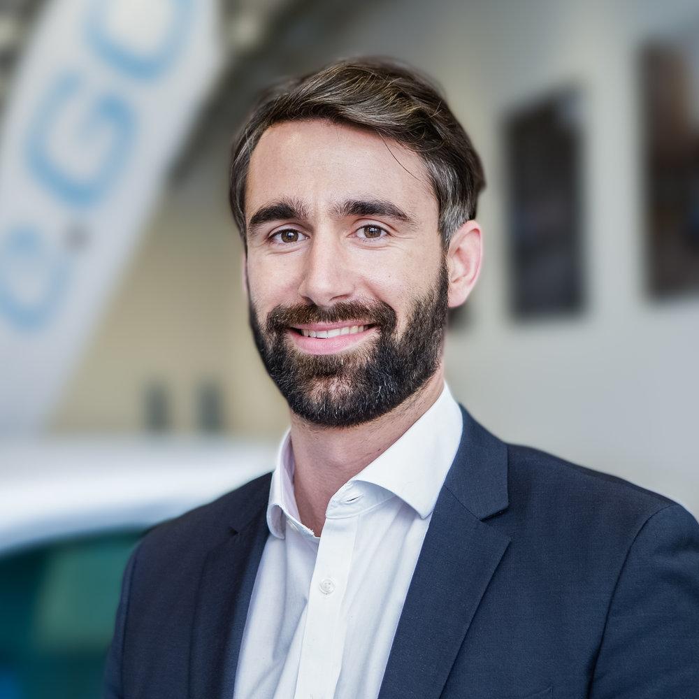 Dr.-Ing. Casimir Ortlieb  CEO, e.GO Digital GmbH