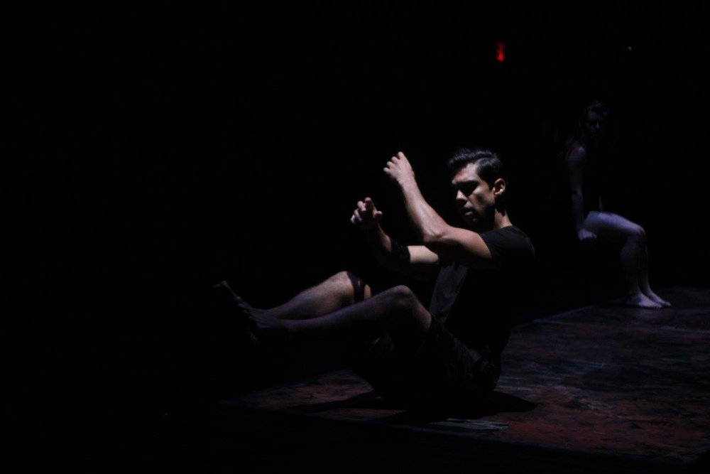 The Dream Dances opening scene- The Subway.  The Ume Group 's 5-Year Anniversary season at The Irondale Center in Brooklyn NY. August 2016