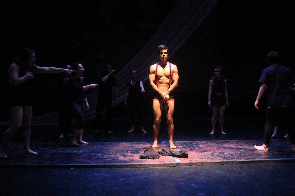 The Dream Dances opening scene- The Nightmare.   The Ume Group 's 5-Year Anniversary season at The Irondale Center in Brooklyn NY. August 2016