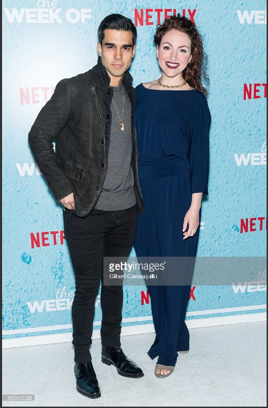 With director and actor  Keelie Sheridan  at the red carpet for the premiere of  The Week Of  in NYC