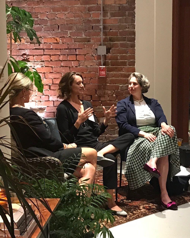 Women & Money:   Natasha Lamb (Arjuna Capital) and Sandra Gilpatrick (LPL Financial) moderated by Martha Acworth (Artaic & formerly Salem Five Bank)