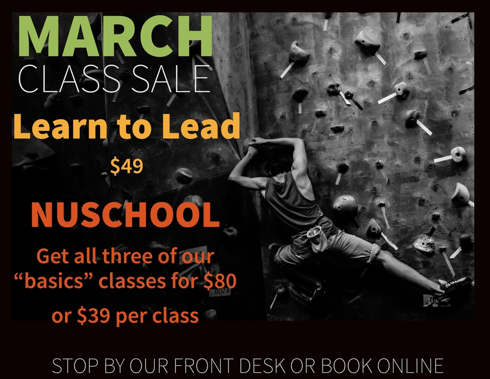 Lead Climbing Promotion