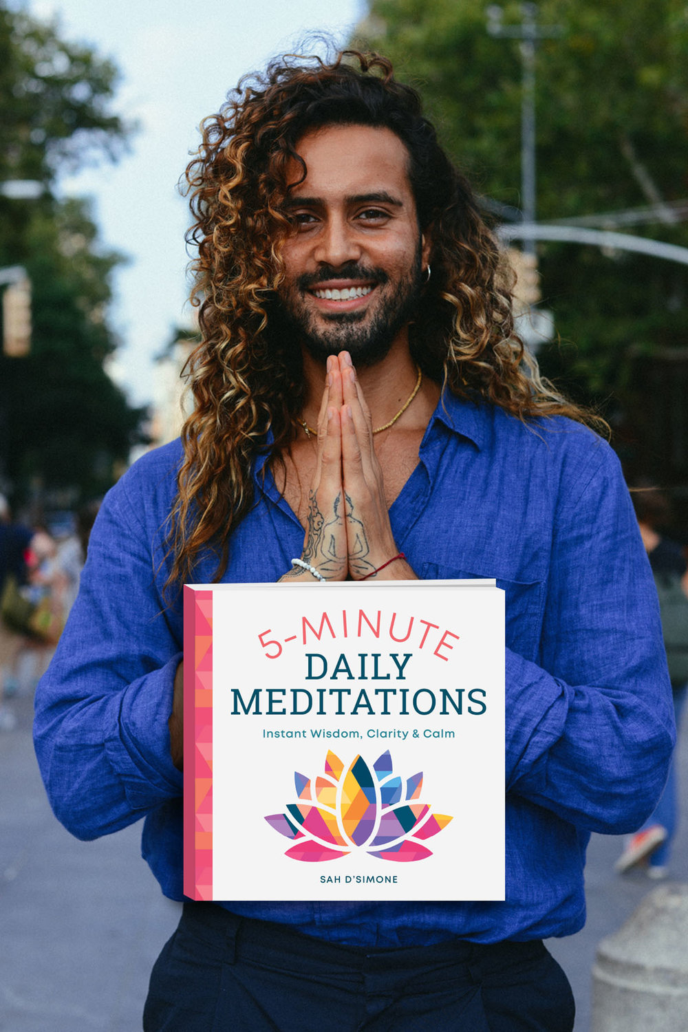 5-Minute Daily Meditations: Instant Wisdom, Clarity, and Calm - These short and accessible daily meditations allow you to practice mindfulness any day, anytime, and anywhere. With 365 daily meditations on everything from emotions and fears to forgiveness and love, 5-Minute Daily Meditations is a go-to guide for mindful living when life gets busy.Pre-order Now ➝