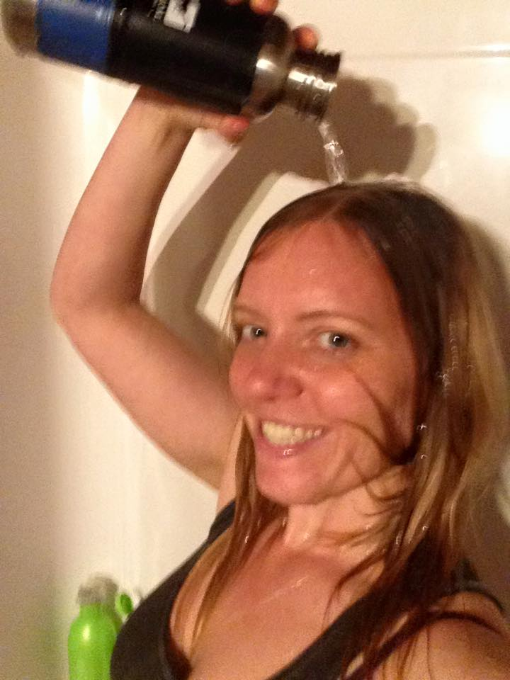 Maija Cantori #WaterBottleSelfie for the #PlasticFreeChallenge