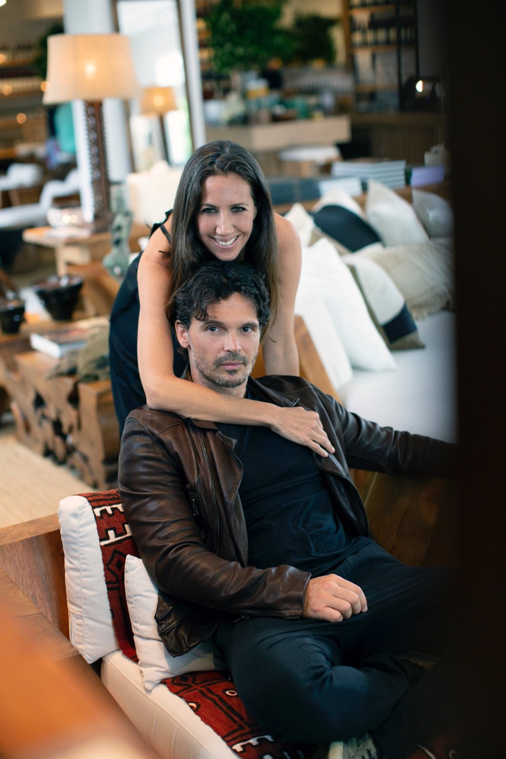 Gabby & Gianpaolo in Sag Harbor by Luca Babini.