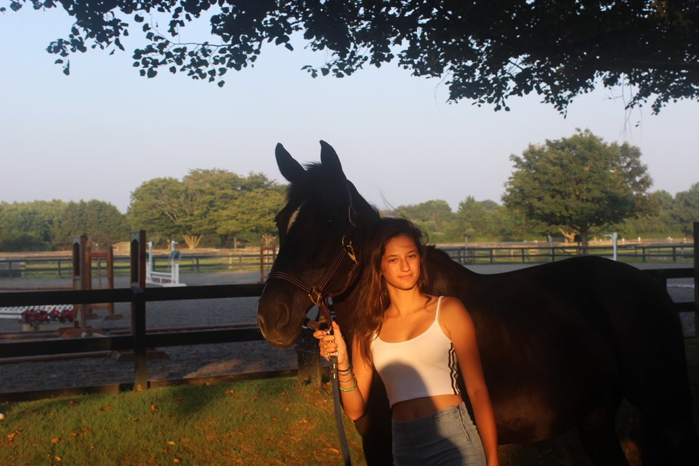 Stefania this weekend with her horse Hector at @Wolfferwines estate & stables .jpg