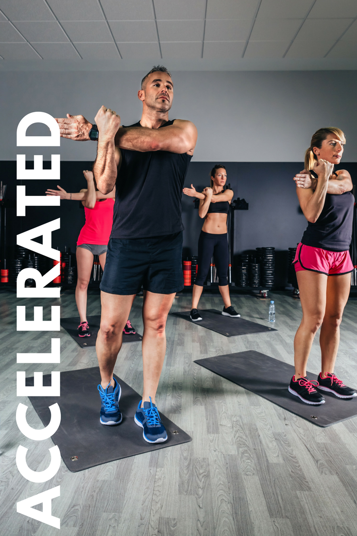 $800/MO  2 fitness classes per week  Complimentary fitness evaluations  Monthly promotions  In-house marketing and collateral  1 Coffee and Biscotti On-The-Go  Quarterly analytics  Fitness class schedule on website