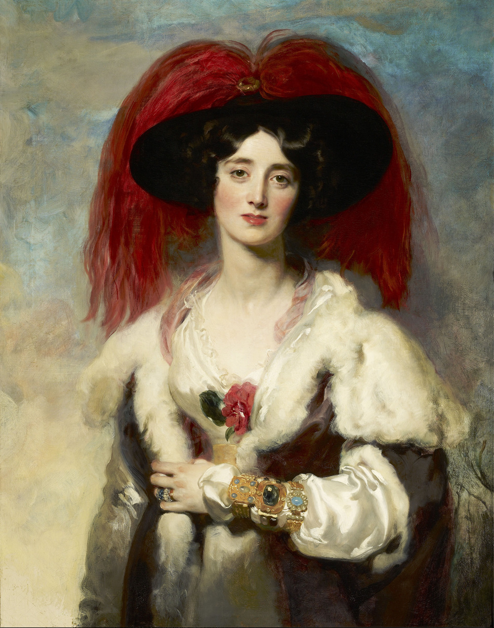 Lady Peel  (1836-4 April 1924)