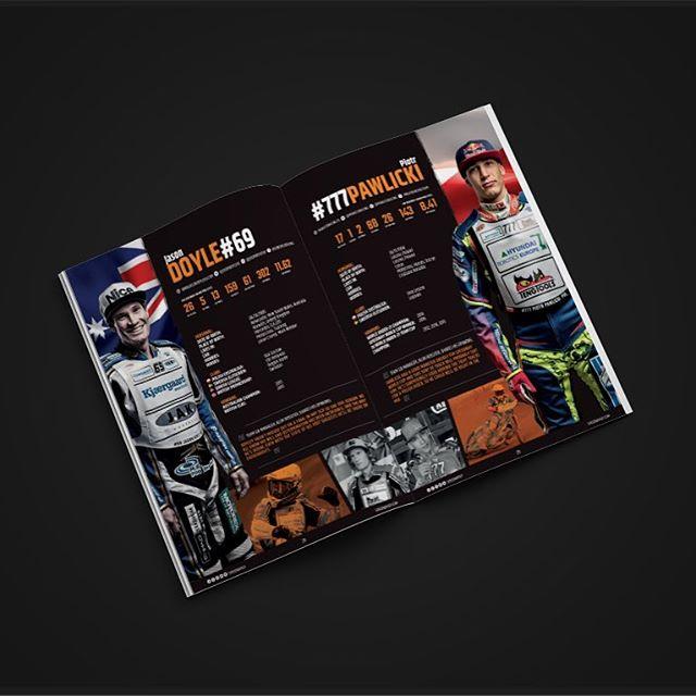 Speedway Grand Prix Series | Cardiff | Rider Profiles | @adrian_hewlett x @ryanchamberss x Curtis Sport #speedway #racing #motorsport #sport #motorbike #craigcook #speedwaygp #cardiff #design #designer #graphicdesign #graphicdesigner #indesign #mockup #fim #motorcross